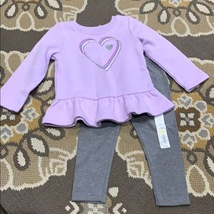 Girl's Jumping Beans set 18 months New
